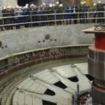 Пуск гидроагрегата №6 на Рогунской ГЭС